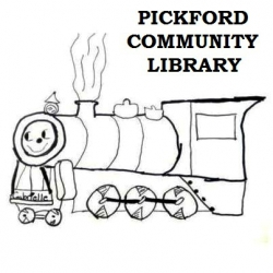 Pickford Community Library Logo