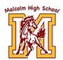 Malcolm High School  Logo
